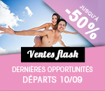 Ventes Flash 10 Septembre