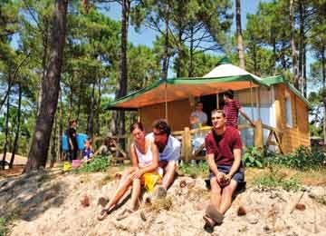 camping le vivier location vacances biscarrosse plage lagrange. Black Bedroom Furniture Sets. Home Design Ideas