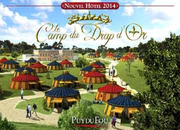 Hôtel Camp du Drap d'Or 3* - Puy du Fou - 1