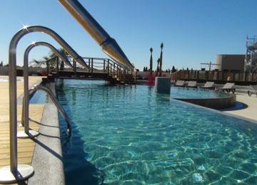 Serignan valras plage camping mas des lavandes location - Camping a valras plage avec piscine ...