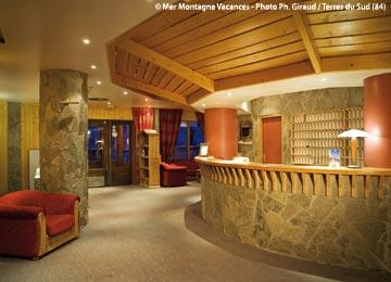 France - Alpes - Les Arcs - Arcs 2000 - Hôtel Club Les Mélèzes