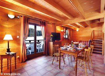 France - Alpes - Morillon - Les Chalets du Bois de Champelle - 6 à 10 personnes