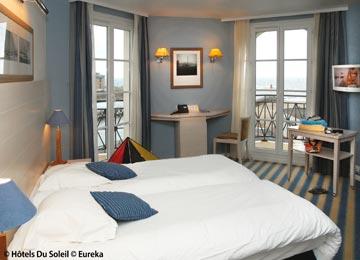 France - Normandie - Trouville - Le Beach Hôtel