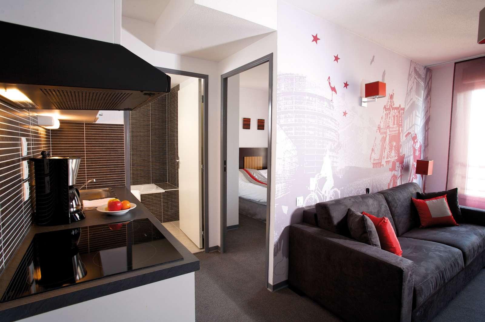R U00e9sidence Apart U0026 39 Hotel Strasbourg Wilson