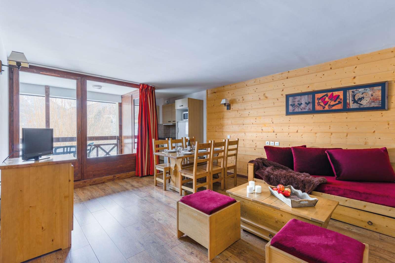 France - Alpes - Brides les Bains - Résidence Lagrange Vacances Cybèle