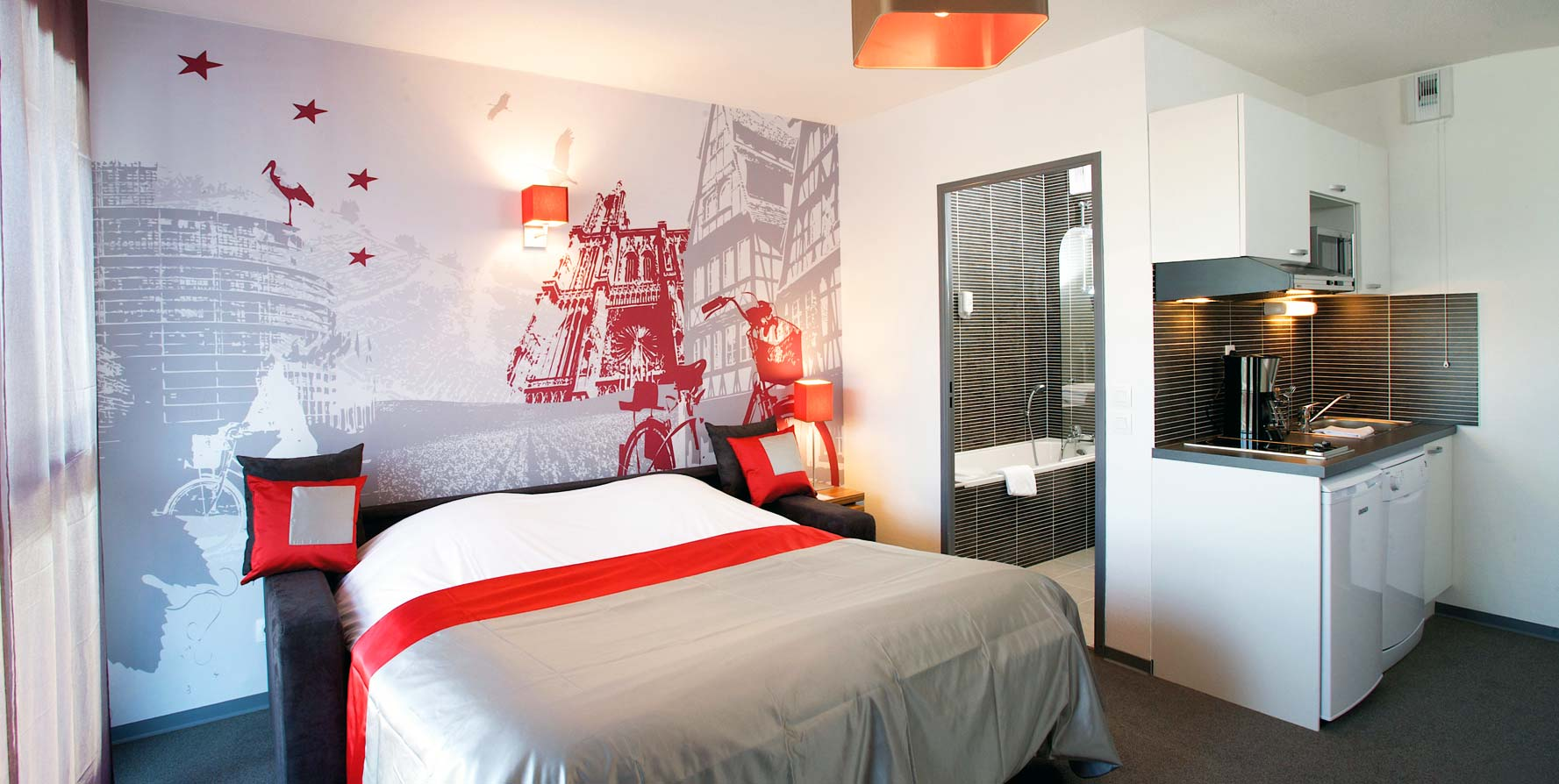 STRASBOURG APART\'HOTEL STRASBOURG WILSON LAGRANGE CITY